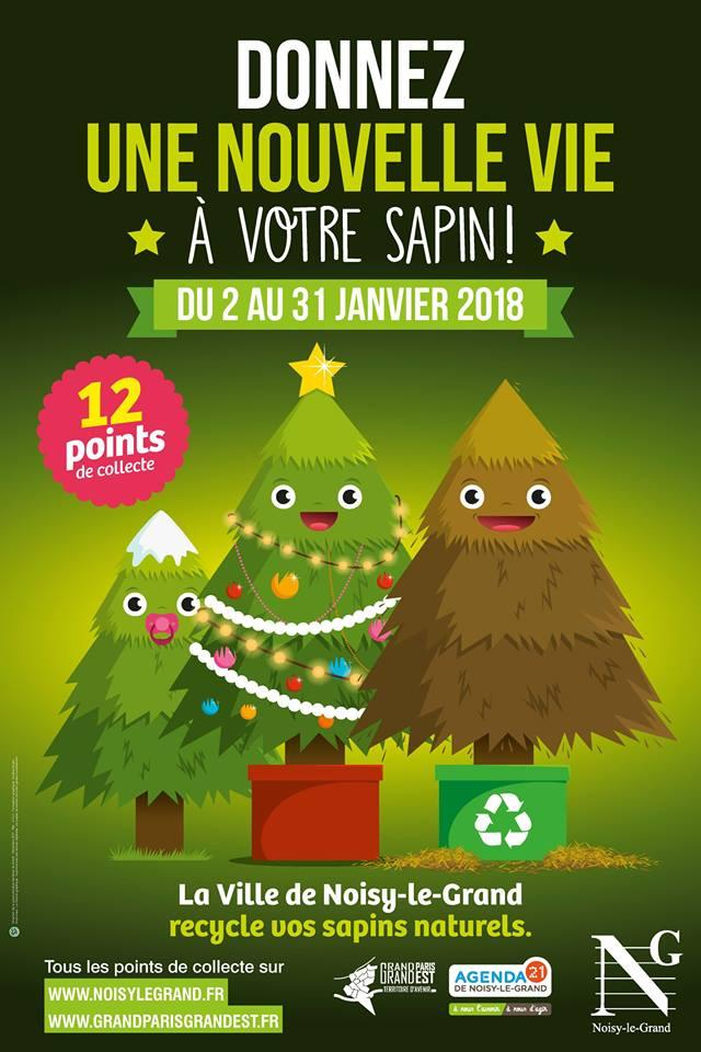 collecte de sapins noisy le grand